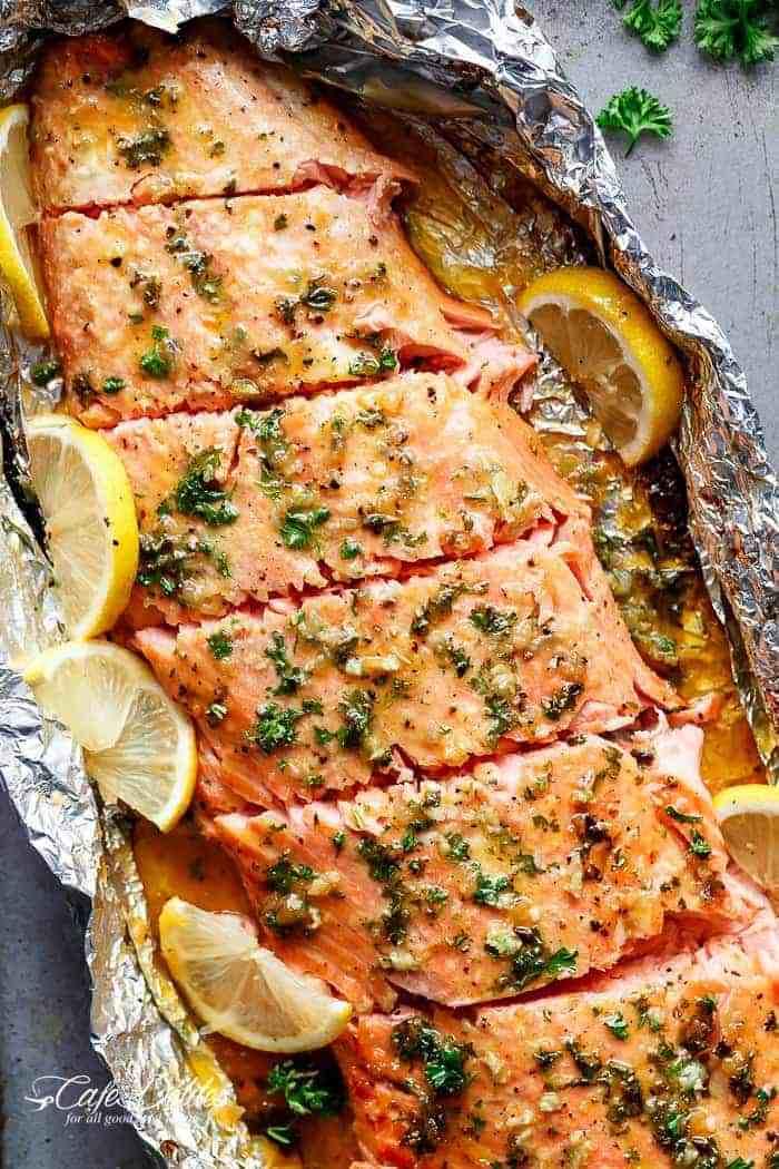 Honey Garlic Butter Salmon Recipe