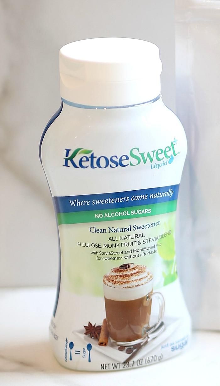 KetoSweet low sugar sweetener.