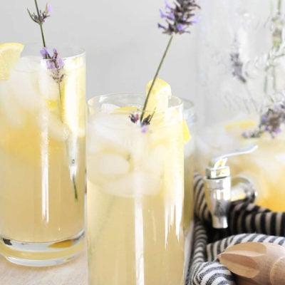 Meyer Lemon Lavender Lemonade
