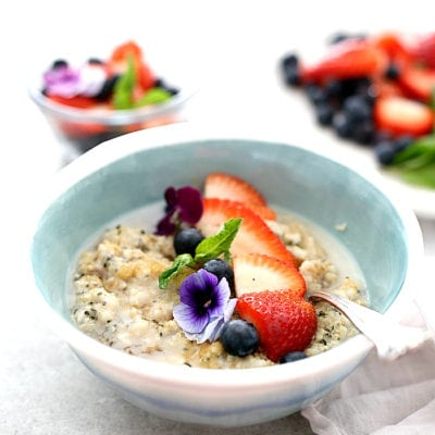 Chia & Hemp Seed Superfood Oatmeal