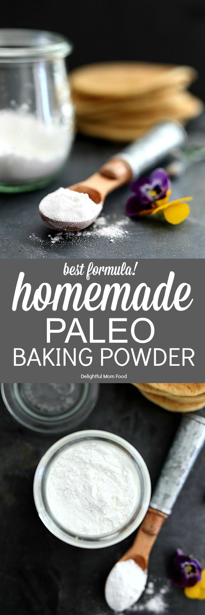 Homemade Baking Powder (Paleo) | Delightful Mom Food