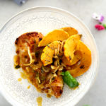 Easy Chicken Breast Recipe with Delicata Squash Pan Sauce (Whole30, Keto, Paleo)
