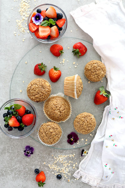 Oatmeal Muffins (Gluten Free)