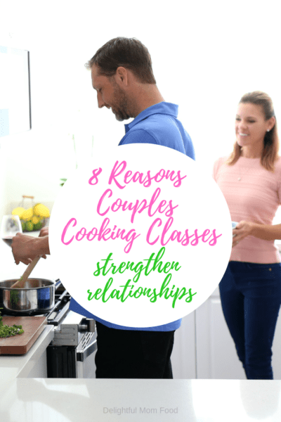 You know what they say, a couple that plays together stays together! Check out these 8 Reasons Couples Cooking Classes Strengthen Relationships!