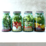 4 Meal Prep Salad Ideas In A Mason Jar