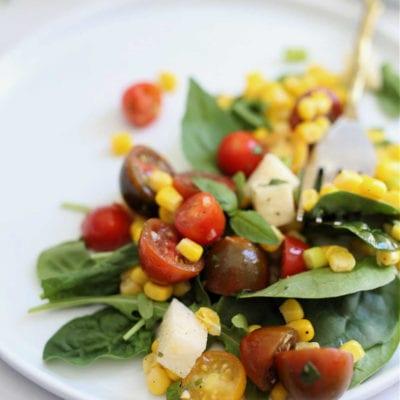 Lemony Corn and Tomato Salad