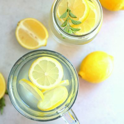 Lemon Water Drink + Benefits