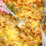 Ground Turkey Spaghetti Squash Casserole