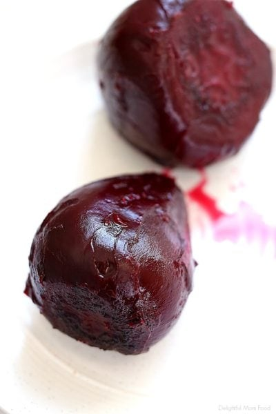 roasted beets recipe and skin removed