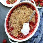 Healthy Gluten-Free Strawberry Crisp
