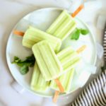 Basil Lemon Popsicles