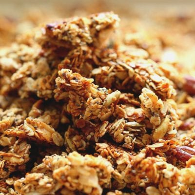 Pumpkin Granola With Crispy Coconut Flakes