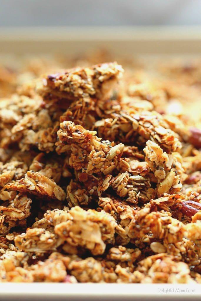 pumpkin granola clusters