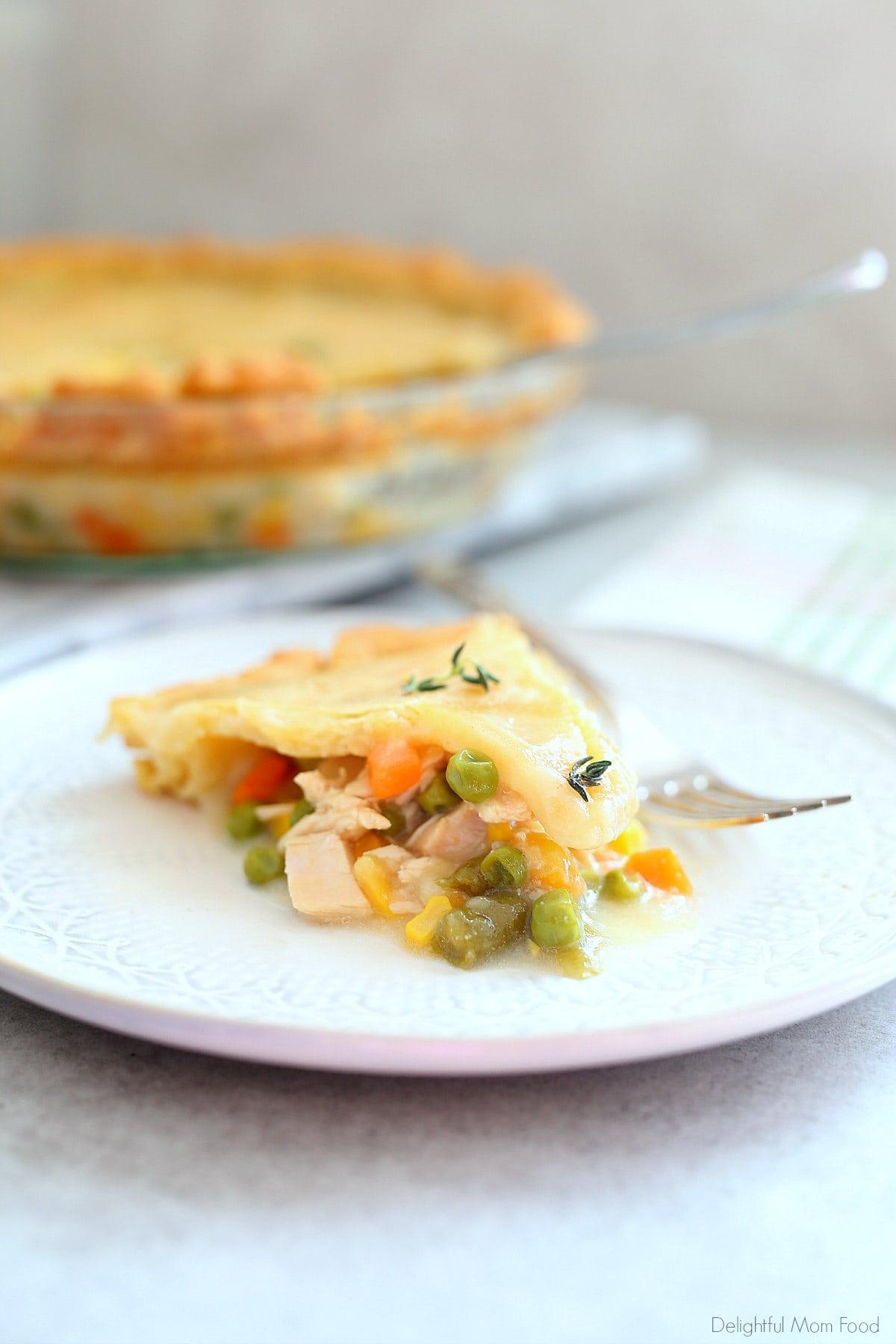 Gluten Free Chicken Pot Pie Recipe Delightful Mom Food