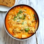 Healthier Broccoli Potato Soup