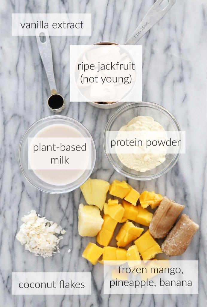 jackfruit smoothie ingredients