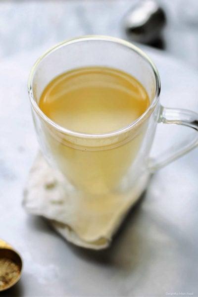best detox teas with homemade detox tea recipe in a mug