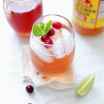 Cranberry Detox Water for a Flat Belly