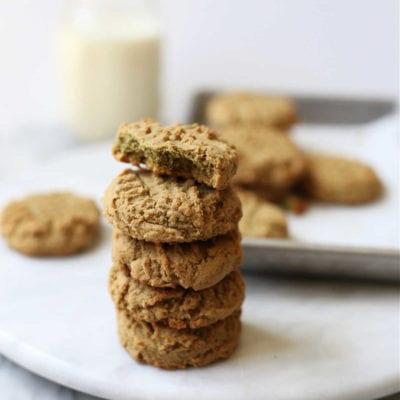 Healthy Sunbutter Cookies (Gluten-Free)