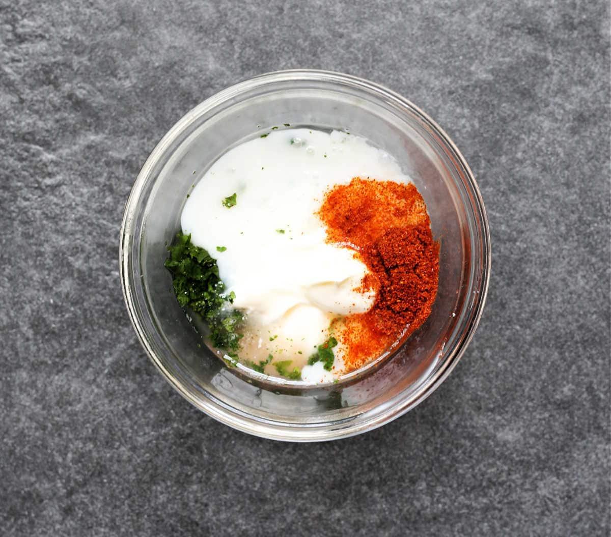 dipping sauce ingredients