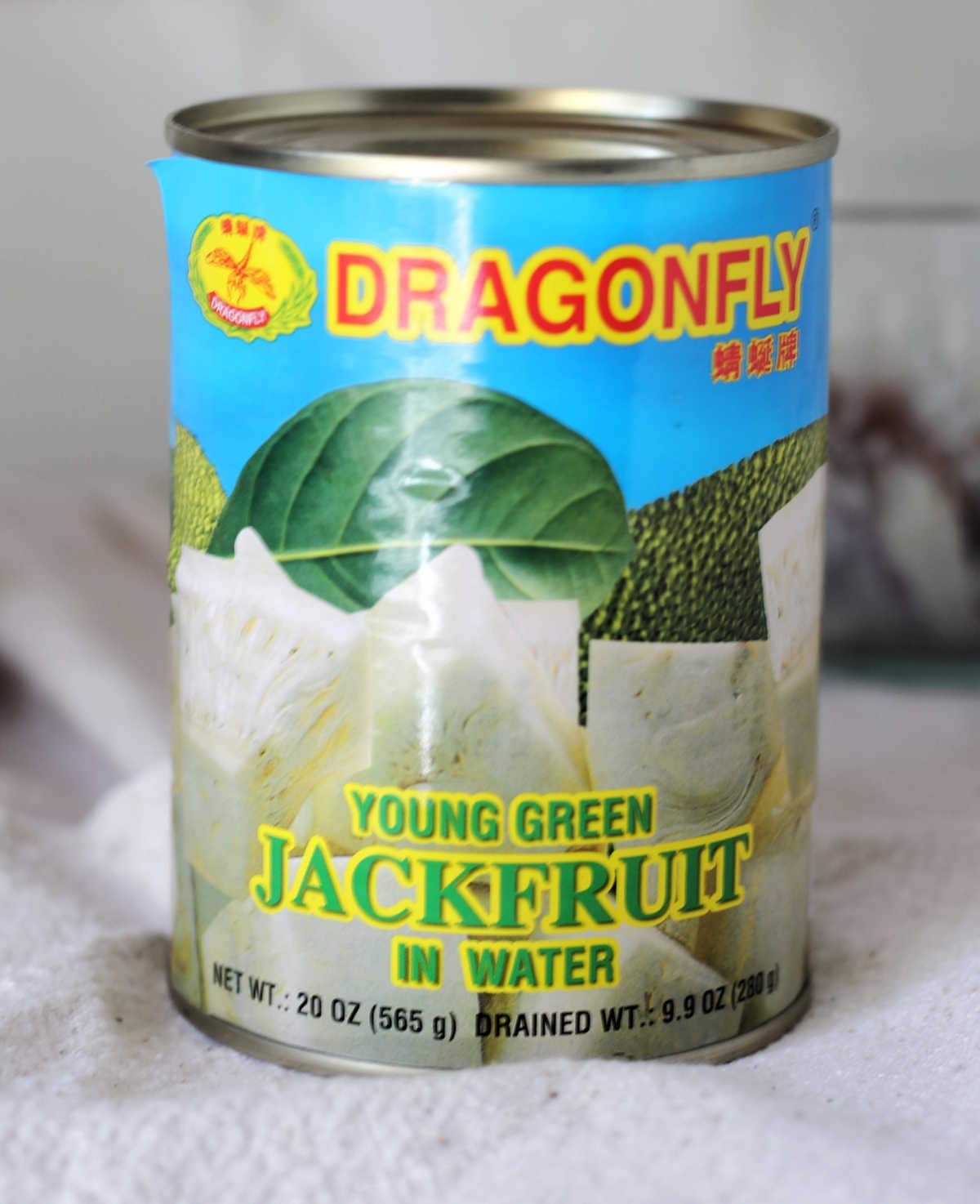 young green canned jackfruit